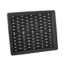 Black-plastic-nursery-tray