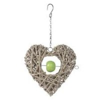 Garden-trend-3384-Crazy-weave-willow-heart-feeder