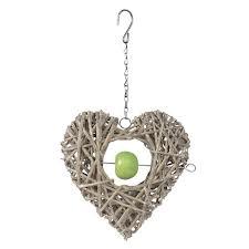 Garden-trend-3384-Crazy-weave-willow-heart-feeder