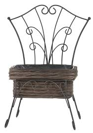 Garden-trend-3562-Willow-seat-planter